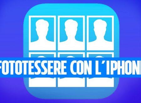 LA FOTOTESSERA – COME CREARE FOTOTESSERE CON IPHONE APPLICAZIONE GRATUITA