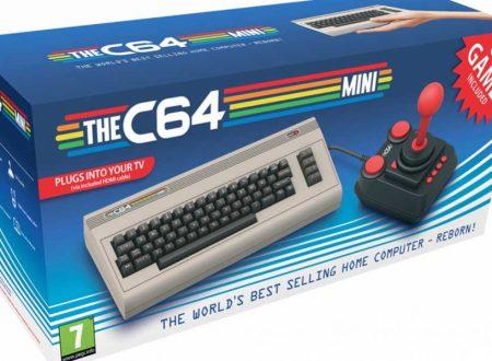 THE C64 MINI – RITORNA IL COMMODORE 64 IN VERSIONE MINI AD ALTA DEFINIZIONE E CON 64 GIOCHI INCORPORATI